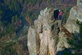 Один из видов на скале Айгир